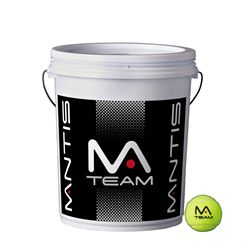 Mantis Team Coaching Tennis Balls Bucket (6 dozen)