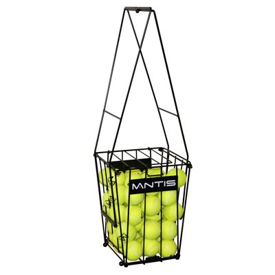 Mantis 72 Tennis Ball Basket - Carry Mode