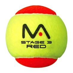 Mantis Stage 3 Mini Tennis Red Balls - 12 Pack