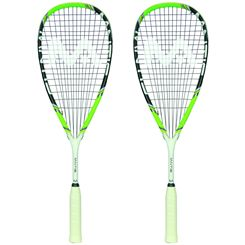 Mantis Power 130 II Squash Racket Double Pack