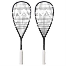 Mantis Power Black Squash Racket Double Pack