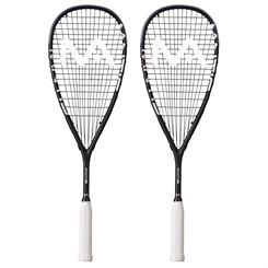 Mantis Power Black Squash Racket Double Pack