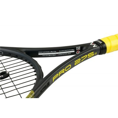 Mantis Pro 275 II Tennis Racket - Closeup