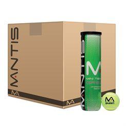 Mantis Stage 1 Green Tennis Balls - 6 dozen