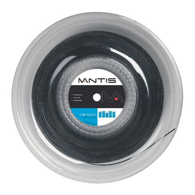 Mantis Synthetic Tennis String 200m Reel-15L-Black Image