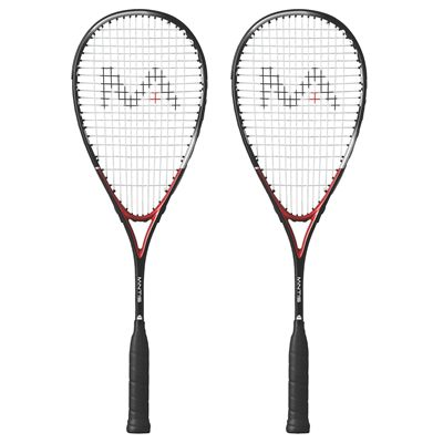 Mantis Titanium Comp Squash Racket Double Pack