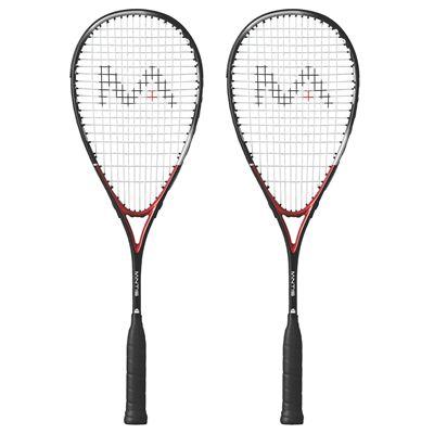 Mantis Titanium Comp Squash Racket Double Pack