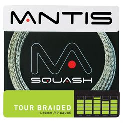 Mantis Tour Braided Squash String Set