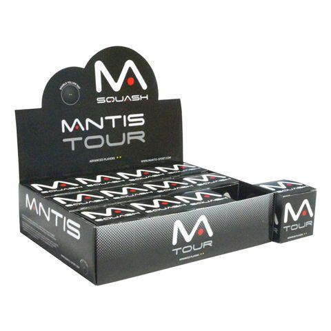 Mantis Tour Squash Balls - 1 Dozen