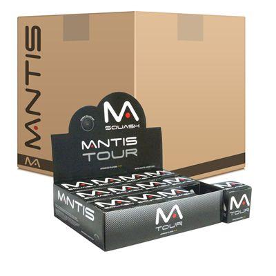 Mantis Tour Squash Balls 6 Dozen