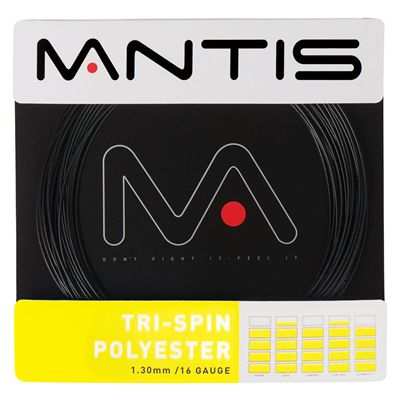 Mantis Tri-Spin Polyester Tennis String Set