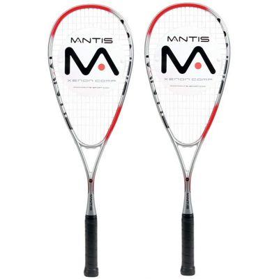 Mantis Xenon Comp Squash Racket Double Pack