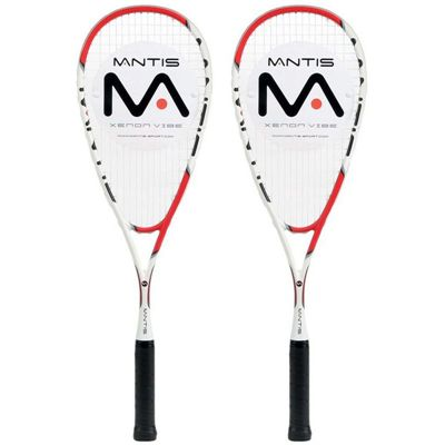 Mantis Xenon Vibe Squash Racket Double Pack