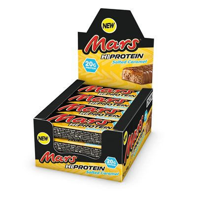 Mars Hi Protein Bars - Pack of 12 - salted caramel pack