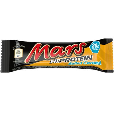 Mars Hi Protein Bars - Pack of 12 - salted caramel single
