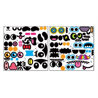 Mathmos Chuppi Art Toy Light - Stickers