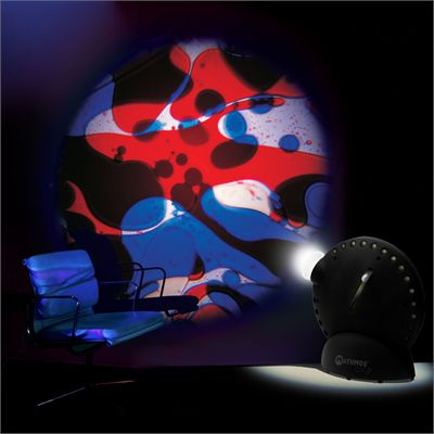Mathmos Space Projector - Blue/Red