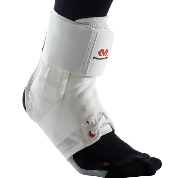 McDavid 195R Ultralite Ankle Support - White - L