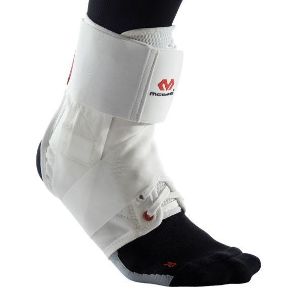 Mcdavid 195r Ultralite Ankle Support White
