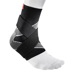 McDavid 4 Way Elastic Ankle Sleeve with Straps