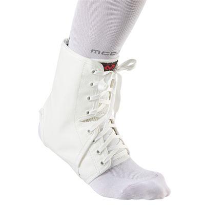 McDavid A101R Ankle Guard White Colour