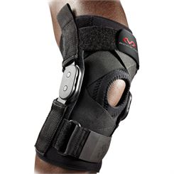 McDavid Knee Brace with Polycentric Hinges and Cross Straps