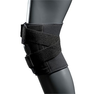 McDavid Multi Action Knee Wrap - Left Side View