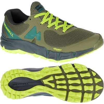 Merrell Agility Charge Flex Mens Running Shoes-gryl