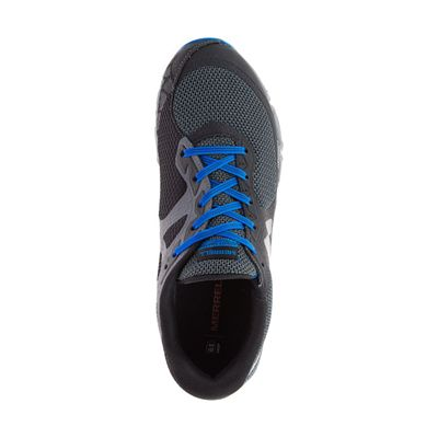 Merrell Agility Charge Flex Mens Running Shoes - Black - Above