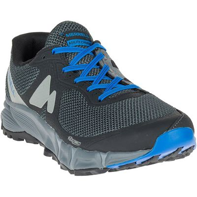 Merrell Agility Charge Flex Mens Running Shoes - Black - Angle