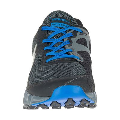 Merrell Agility Charge Flex Mens Running Shoes - Black - Front
