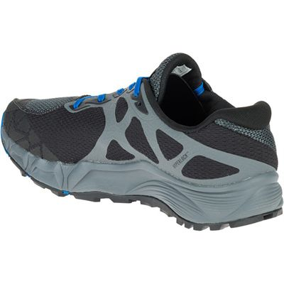 Merrell Agility Charge Flex Mens Running Shoes - Black - Left Side