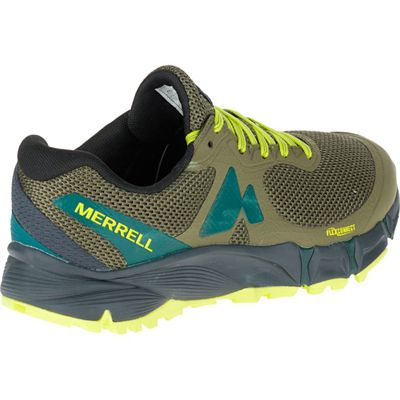 Merrell Agility Charge Flex Mens Running Shoes - Green - Right