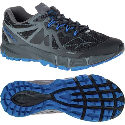 Merrell Agility Peak Flex Mens Running Shoes-black