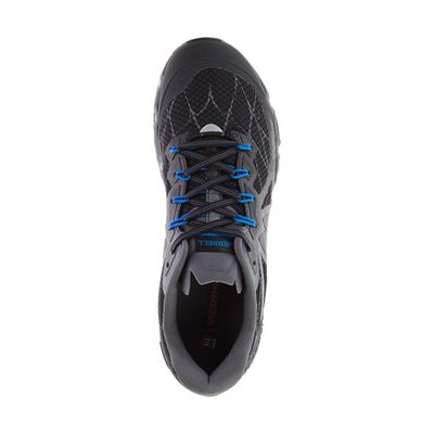 Merrell Agility Peak Flex Mens Running Shoes - Black - Above