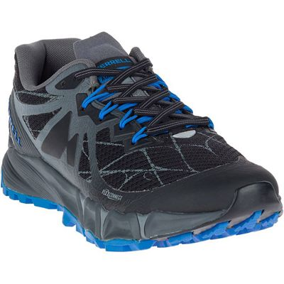 Merrell Agility Peak Flex Mens Running Shoes - Black - Angle