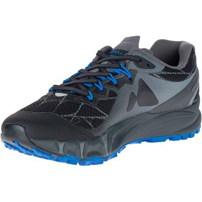 Merrell Agility Peak Flex Mens Running Shoes - Black - Left
