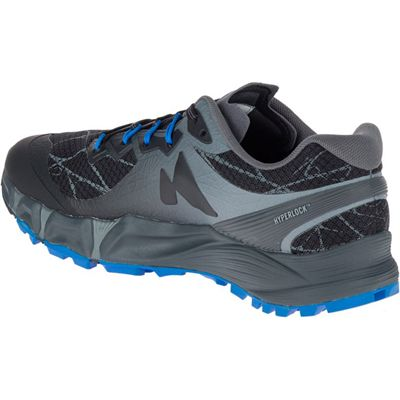 Merrell Agility Peak Flex Mens Running Shoes - Black - Left Side