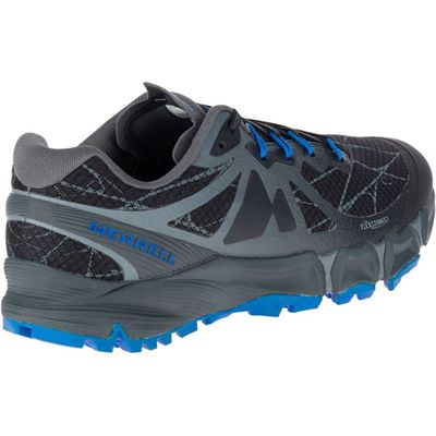 Merrell Agility Peak Flex Mens Running Shoes - Black - Right Side