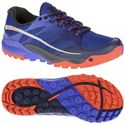 Merrell All Out Charge Ladies Running Shoes-Blue-Orange