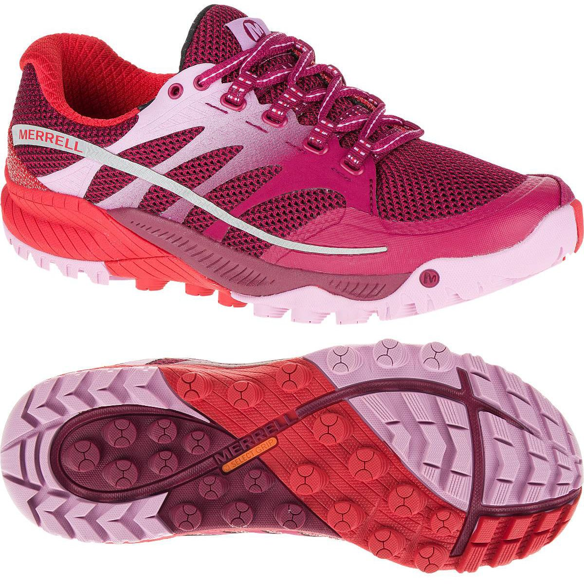 Merrell All Out Charge Ladies Running Shoes Ss16
