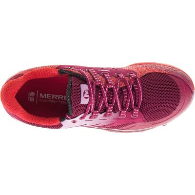 Merrell All Out Charge Ladies Running Shoes-Red-Top