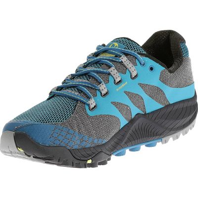 Merrell All Out Charge Mens Running Shoes - Angled