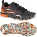 Merrell All Out Crush Ladies Running Shoes-Black-Orange