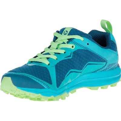 Merrell All Out Crush Light Ladies Running Shoes-Green-Amazon