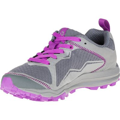 Merrell All Out Crush Light Ladies Running Shoes-Grey-Amazon