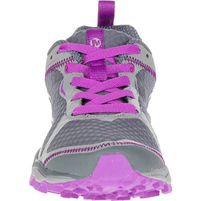 Merrell All Out Crush Light Ladies Running Shoes-Grey-Front
