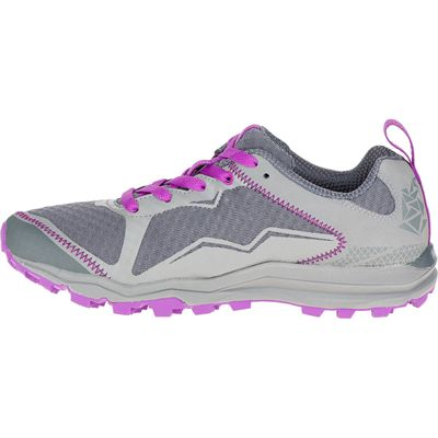Merrell All Out Crush Light Ladies Running Shoes-Grey-Side