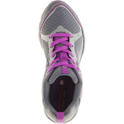 Merrell All Out Crush Light Ladies Running Shoes-Grey-Top