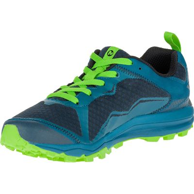 Merrell All Out Crush Light Mens Running Shoes - Green Alterative